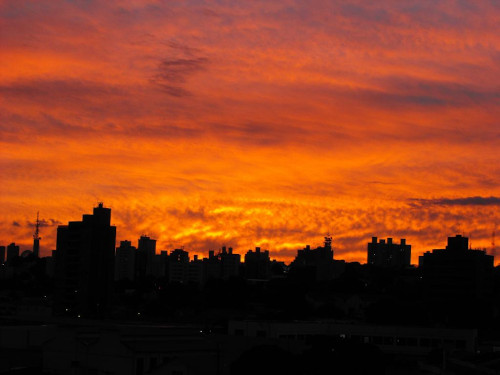Sky today in Campinas